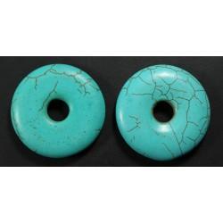 Turquesa Donut 38mm