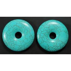 Turquesa Donut 48mm