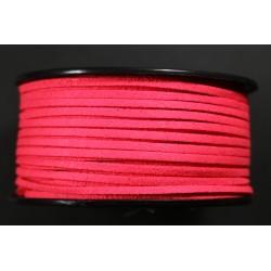 Cordon Antelina Rojo fluor 2.8mm