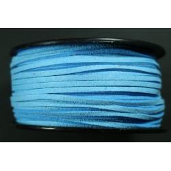 Cordon Antelina Azul Claro 2.8mm