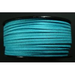 Cordon Antelina Turquesa 2.8mm
