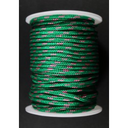 Cordon Cordino Verde 3mm