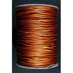 Cordon Algodon Encerado Dorado 1.5mm