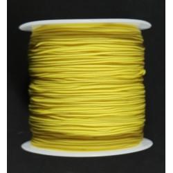 Cordon Cola de Rata Amarillo 1mm