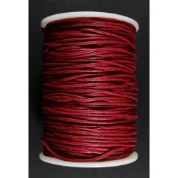 Cordon de Algodon Rojo V 1.5mm
