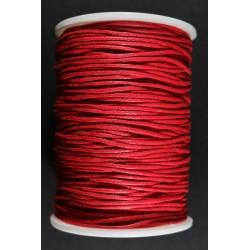 Cordon de Algodon Rojo 1.5mm