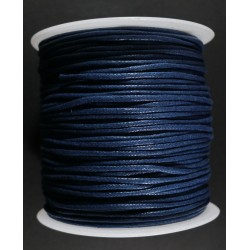 Cordon de Algodon Azul 2mm