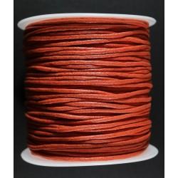 Cordon de Algodon Naranja 2mm