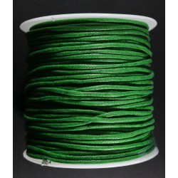 Cordon de Algodon Verde 2mm