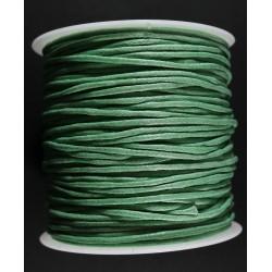 Cordon de Algodon Verde P 2mm