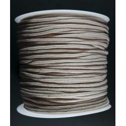 Cordon de Algodon Natural 2mm