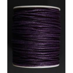 cordon de algodon lila 1.5mm