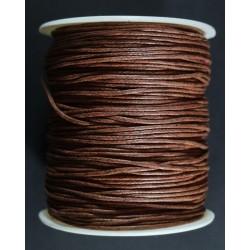 cordon de algodon marron claro 1.5mm