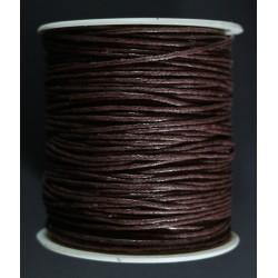cordon de algodon marron 1.5mm