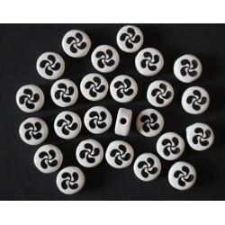 Cuentas Ceramica Esmaltada 83