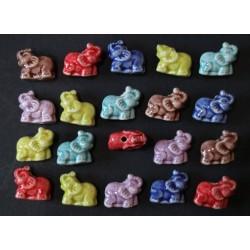 Cuentas Ceramica Esmaltada 23