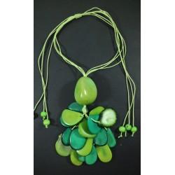 Collar Tawa Racimo Verde Pistacho