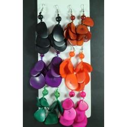 Pendientes Tawa Laminas Color