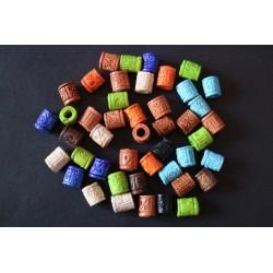 Cuentas Ceramica Natural Color 32A