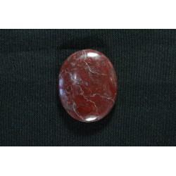 Piedra Ranurada Malaquita Peruana Oval
