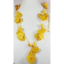 Collar Tawa Color Amarillo