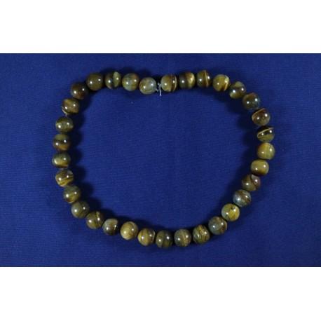 Collar Cuarzo Cristal Bola 6mm