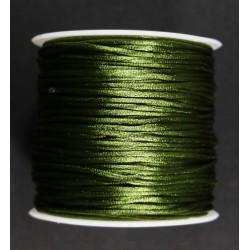 Cordon Cola de Raton Verde M 1.5mm