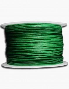 Cordon de Algodon Verde 1mm
