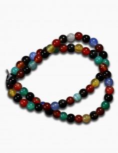 Agata Multicolor Collar...