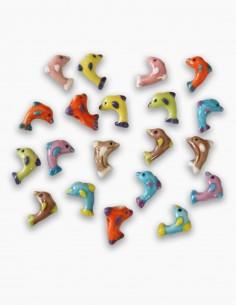 Cuentas Ceramica Delfin 2