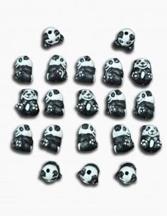 Cuentas Ceramica Osito Panda