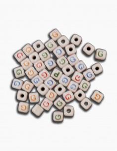 Cuentas Ceramica Letra G