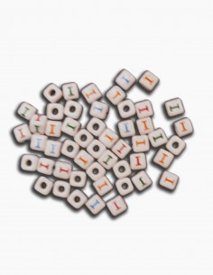 Cuentas Ceramica Letra I