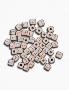 Cuentas Ceramica Letra L