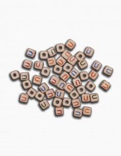 Cuentas Ceramica Letra U