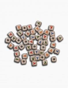 Cuentas Ceramica Letra Y
