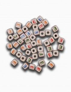 Cuentas Ceramica Letra E