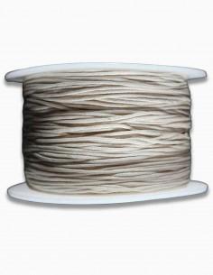 Cordon de Algodon Natural 1mm