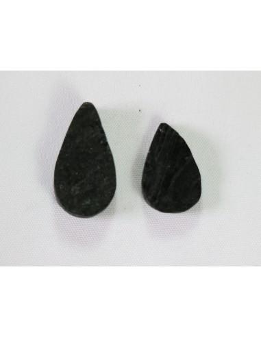 Turmalina Negra Cabujon Piedra Gota1