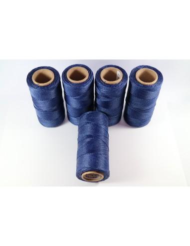 Hilo Encerado Linhasita 1mm. Azul Cor.70