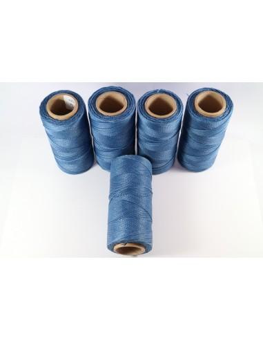 Hilo Encerado Linhasita 1mm. Azul...