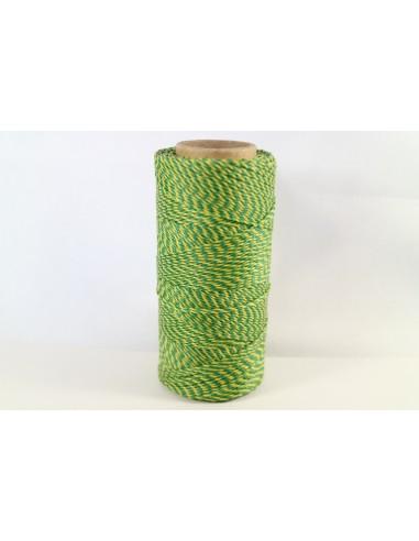Hilo Encerado Linhasita 1mm. Verde...