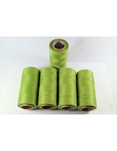 Hilo Encerado Linhasita 0.50mm. Verde...