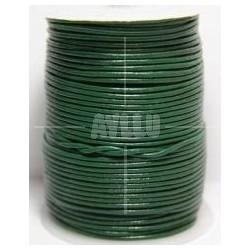Cordon Cuero Verde 1.5 mm.