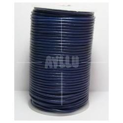 Cordon de Cuero Azul 2.5 mm.