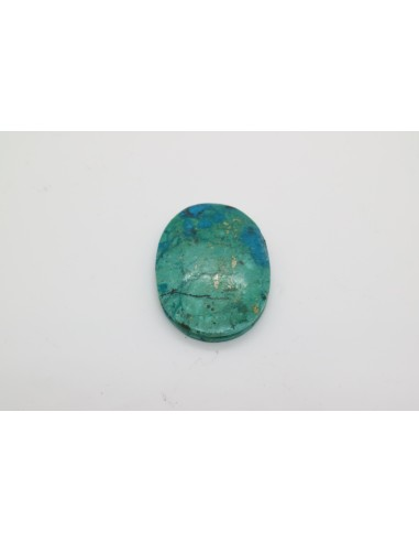 Crisocola Piedra Ranurada Oval
