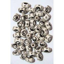 Ceramica Esmaltada Yin Yang...