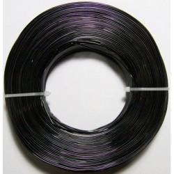 Alambre Aluminio Negro 1mm