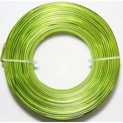 Alambre Aluminio Verde...