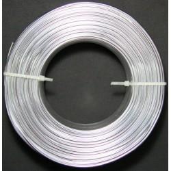 Alambre Aluminio Plateado 1.8mm